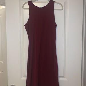 Target midi slit dress